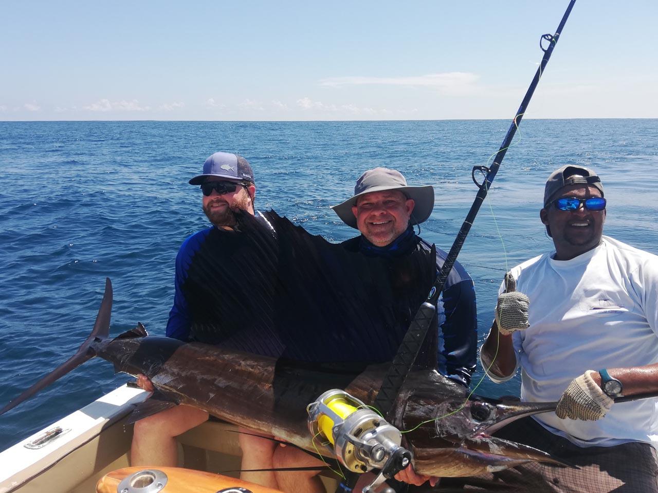 Sailfish on the Papagayo Gulf