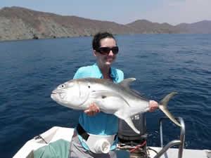 Bigeye Jack fish Papagayo SportFishing